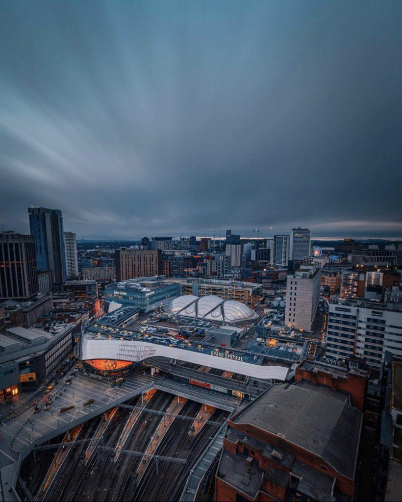 Credit: @usibehindlens - City views from Rotunda with grey skies