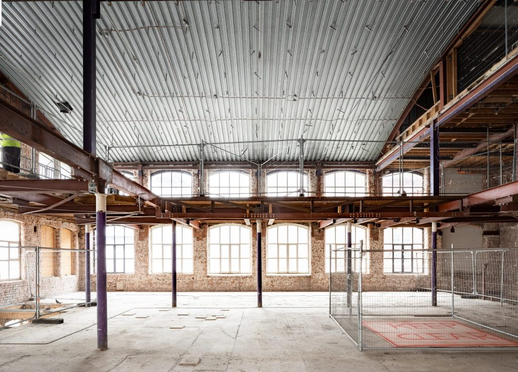 Cotton Yard Building Site Top Floor