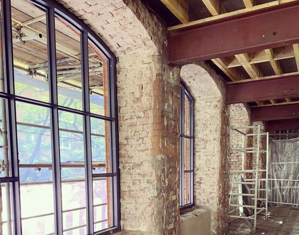Cotton Yard Interior Window Frames - August 2020