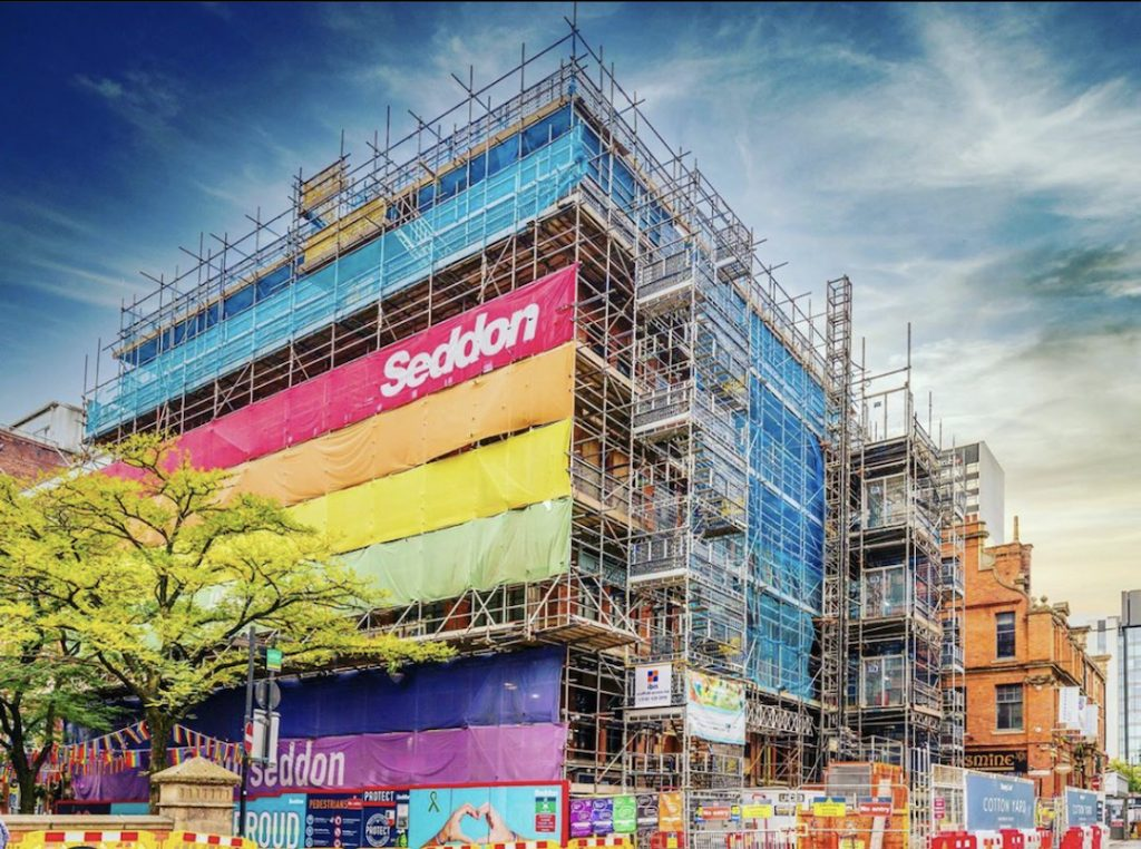 Cotton Yard Manchester aparthotel exterior taken by @cringlecorp
