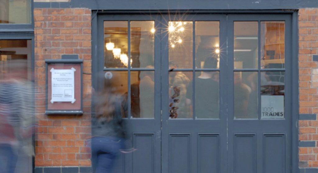 1000 Trades bar and kitchen in Jewellery Quarter, Birmingham