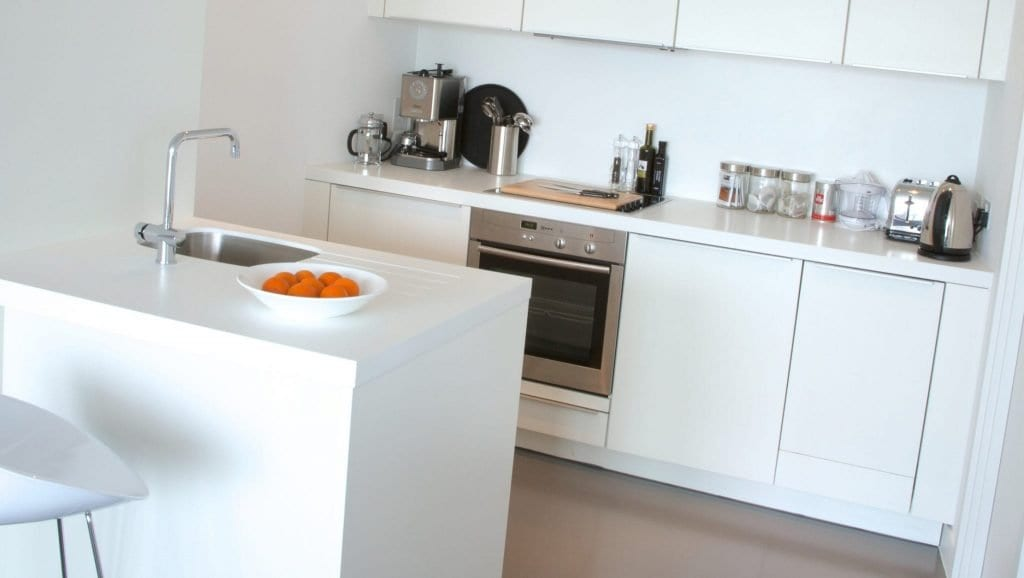 Clubman Kitchen at Staying Cool serviced apartments