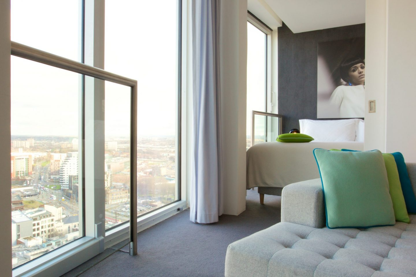 Maxi Apartment with view from lounge