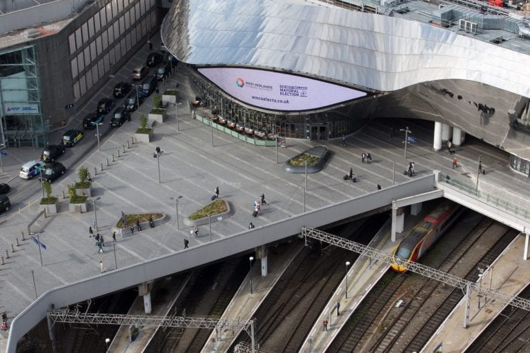 View of New St Station