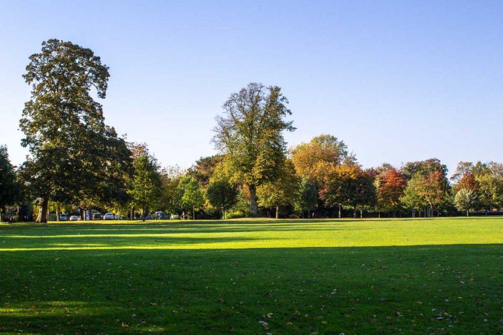 Green spaces in Birmingham