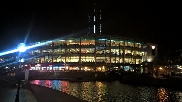 Birmingham canals-by-night
