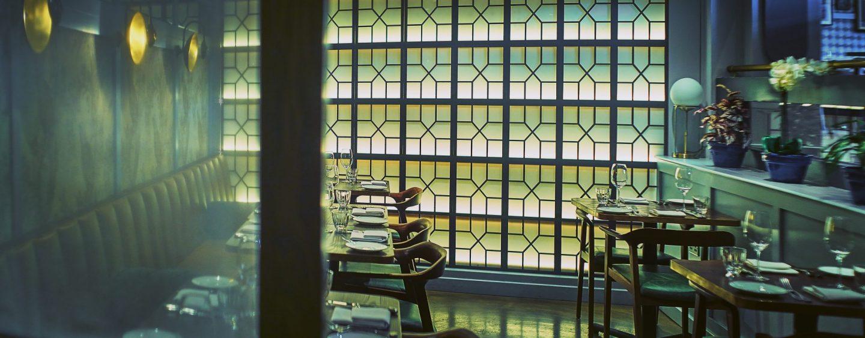 Lasan Birmingham restaurant interior detail