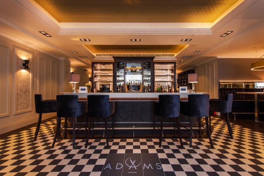 Bar at Adam's, Birmingham Michelin starred restaurant