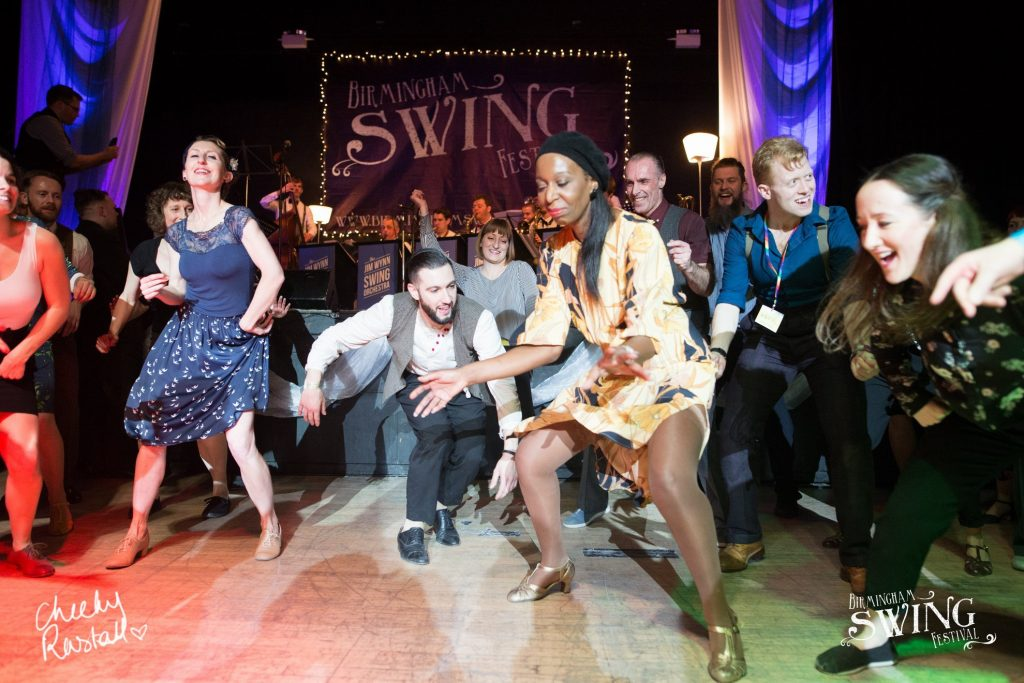 Image of swing dancers by Cheeky Rascal