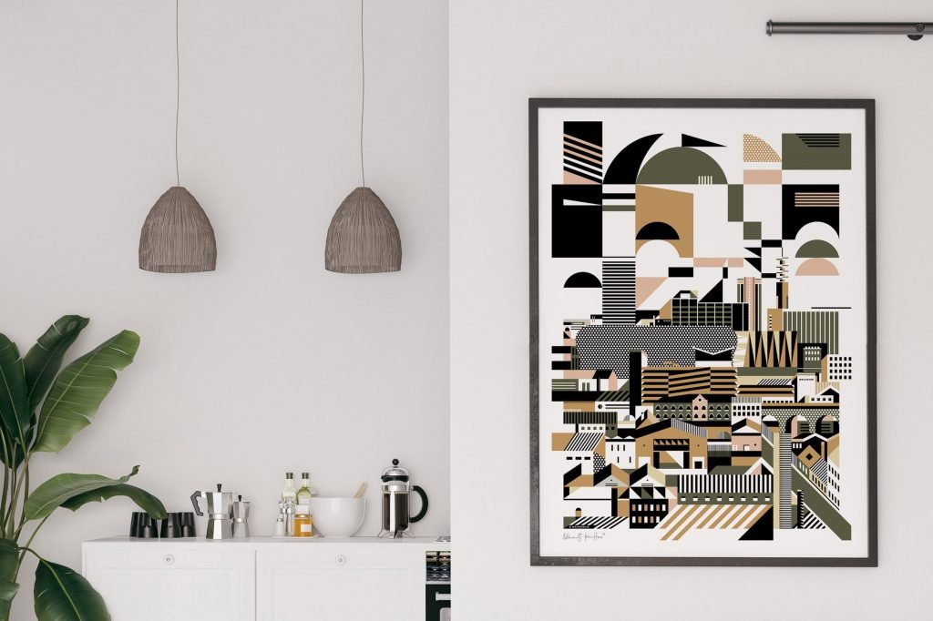 Brumhaus Graphicity print