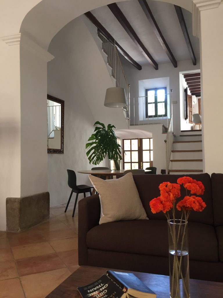 Soller townhouse lounge and staircase