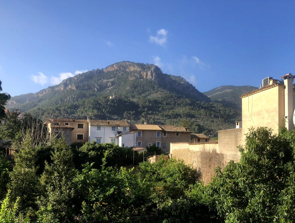 Balcony views from Soller townhouse