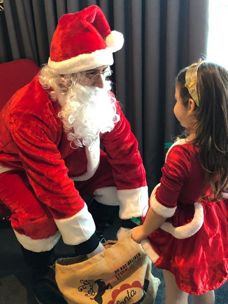Creative Heights Charity Event: Father Christmas for Birmingham Children's Hospital