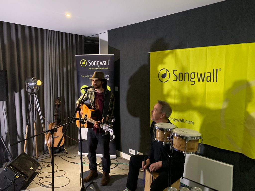 Songwall event performers