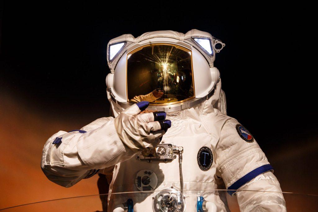 Birmingham half term Thinktank science museum space suit