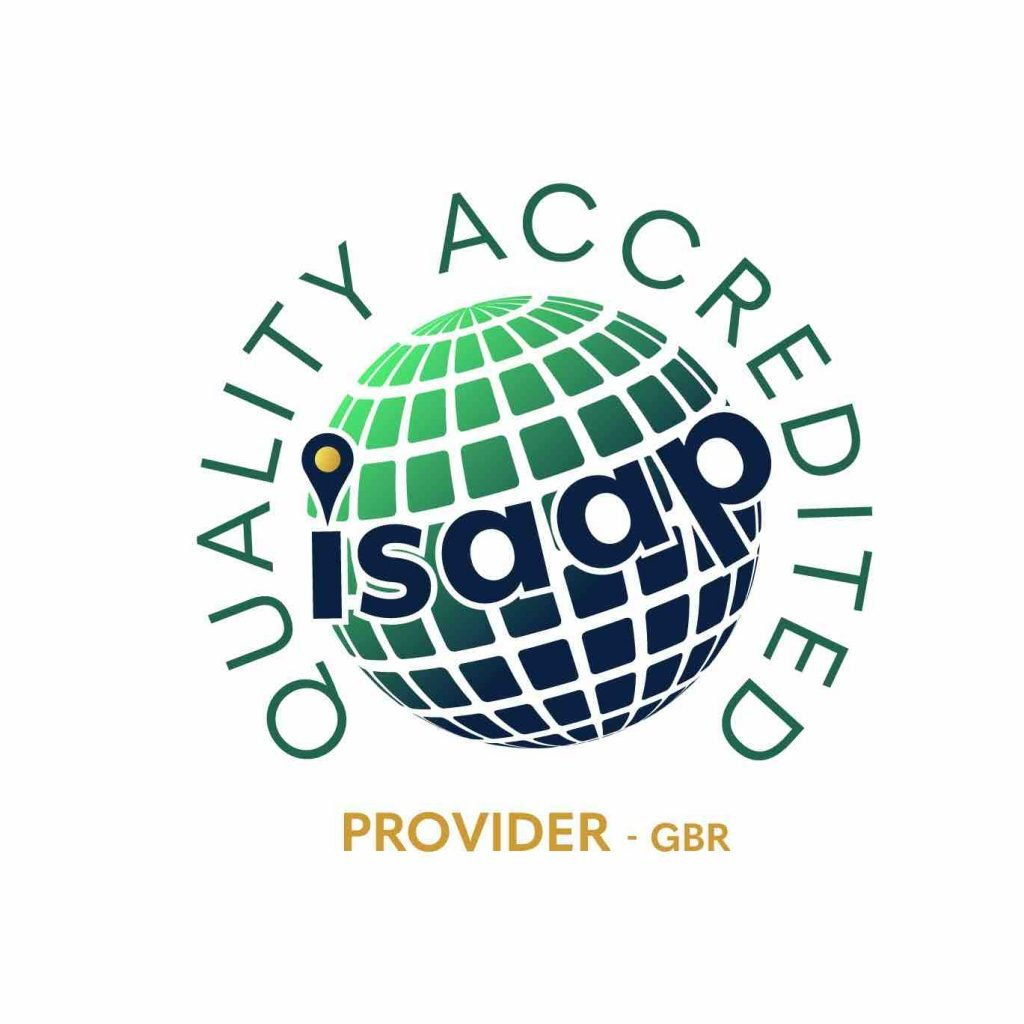 ISAAP Quality Accredited Badge