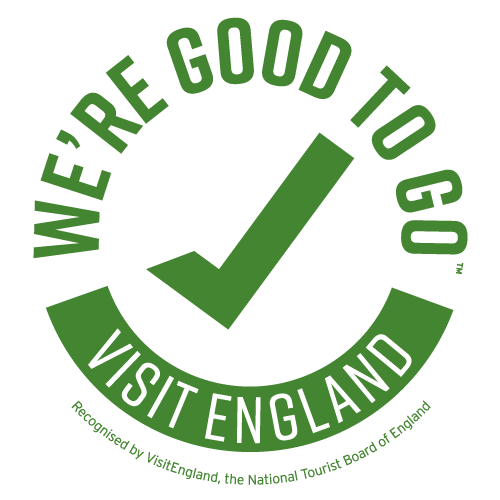 We're Good to Go Accreditation from Visit England