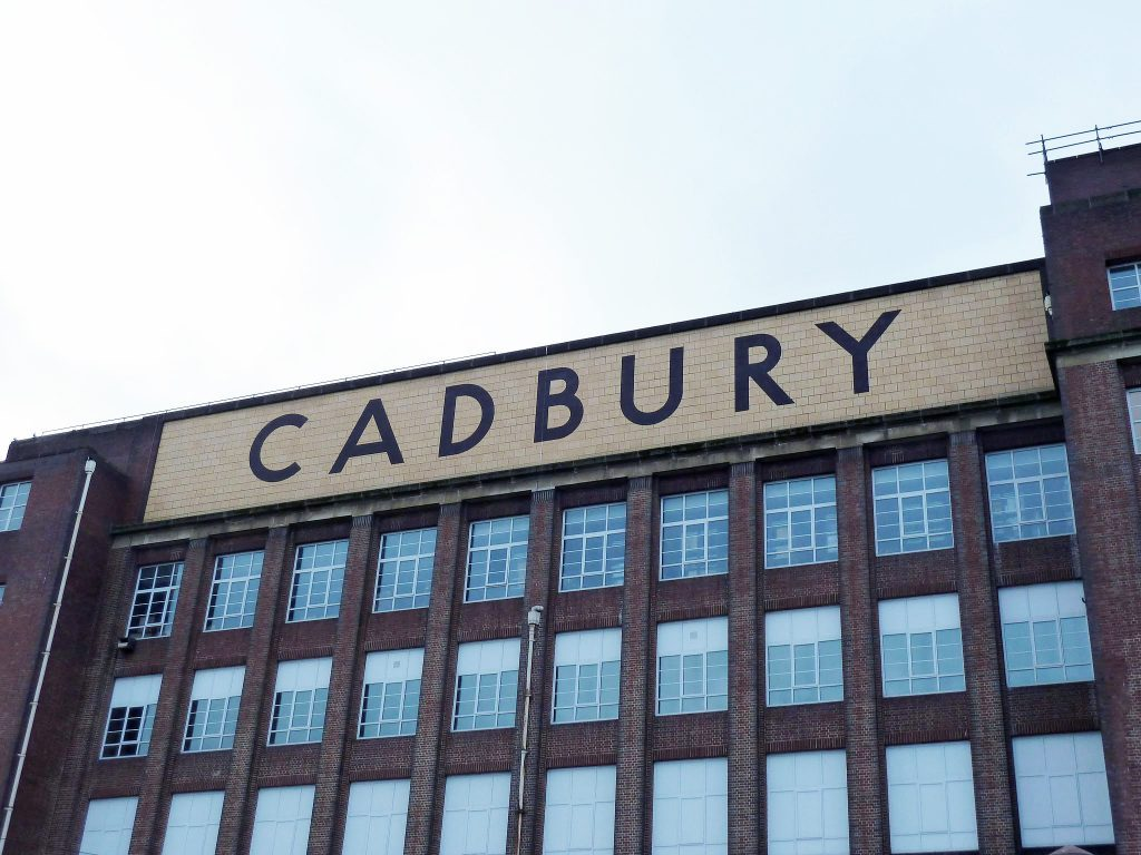 Picture of Cadbury chocolate factory