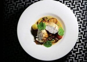 Opus Restaurant - monkfish dish