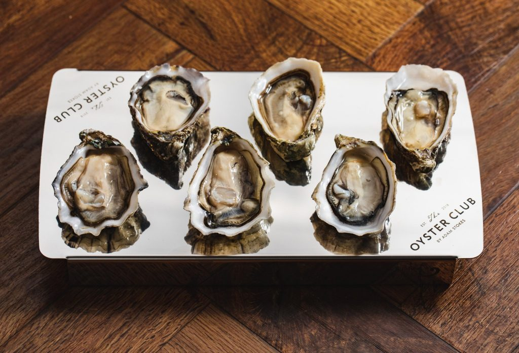 Oysters from Oyster Club Restaurant by Adam Stokes