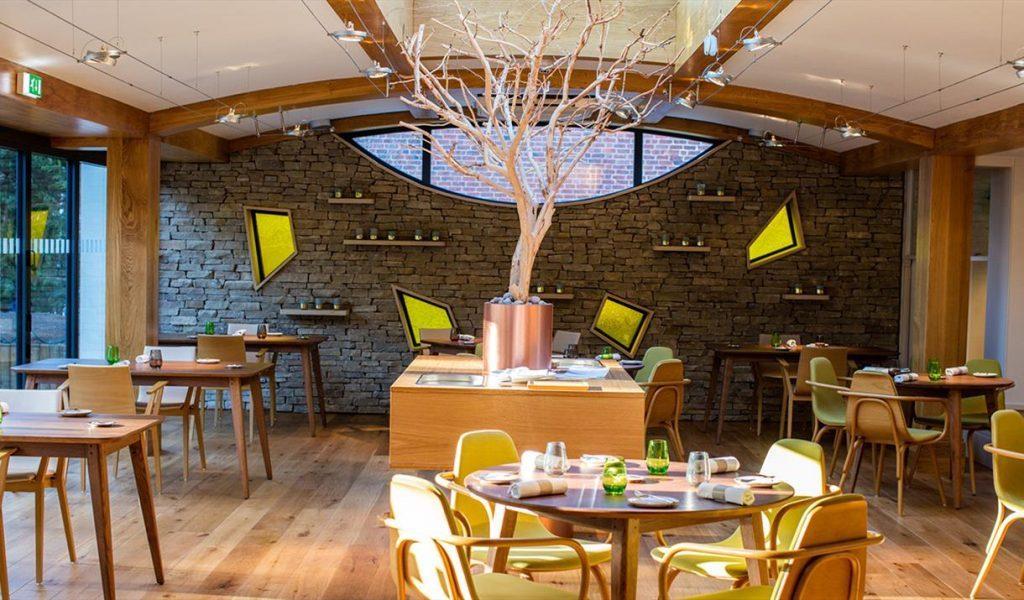 Inside Simpson's Restaurant in Birmingham