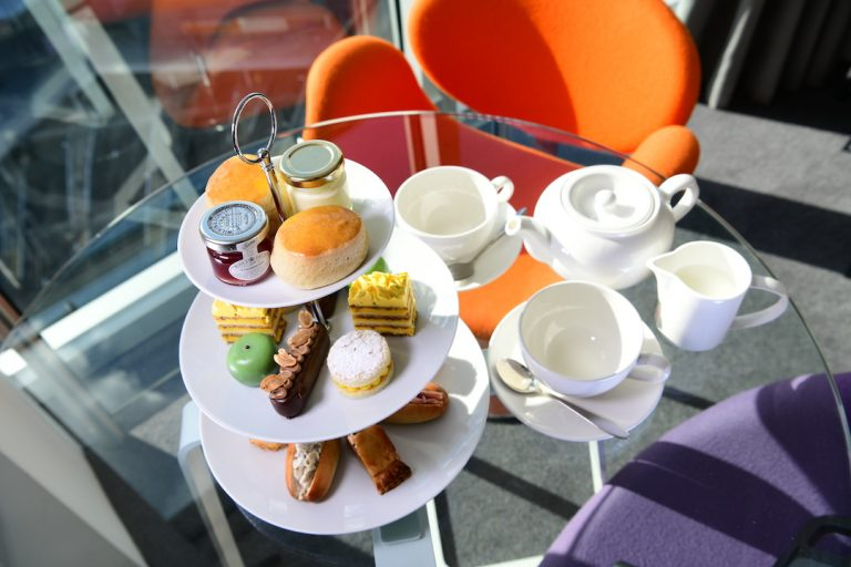 Staying Cool's Afternoon Tea selection available at their Rotunda aparthotel
