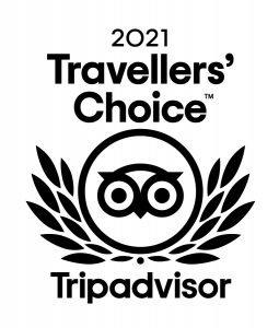 Tripadvisor 2021 Travellers' Choice Award
