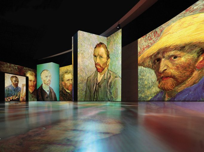 A promotional photo of the Van Gough Alive exhibition that will be hosted by the Birmingham Hippodrome between 25th May and 11th July 2021.