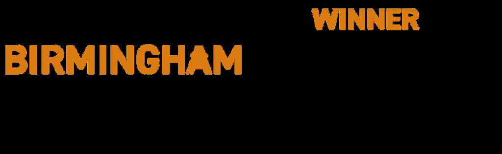 City of Birmingham Business Awards  - Venue of the year award badge