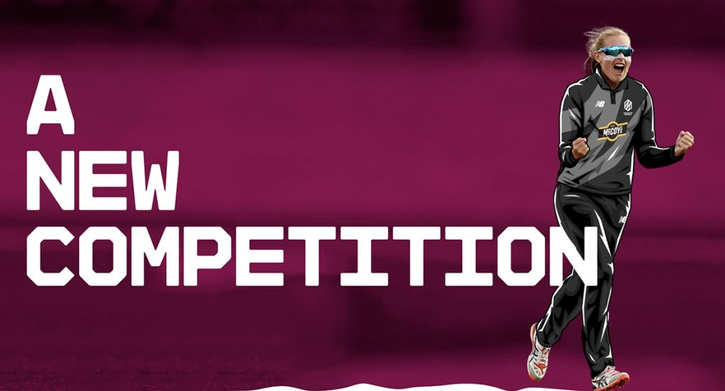 A banner advertisement for The Hundred Cricket competition taking place at Edgbaston Cricket Ground in Summer 2021
