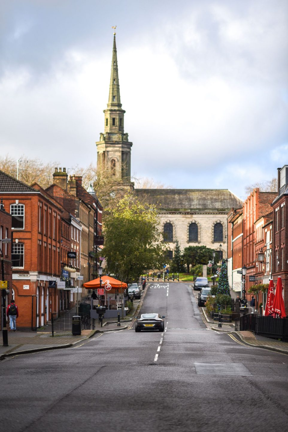 Views down Ludgate Hill of St Paul's Cathedral in Birmingham's Jewellery Quarter - Photo credit: Anne-Marie Hayes